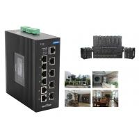 10 Ports 240W Industrial Ethernet Poe Unmanaged Network Switch With 2 Combo Port