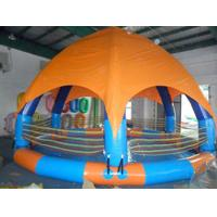 Quality Family Size Kids Inflatable Pools With Tent Cover for sale
