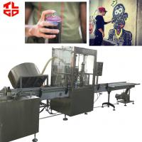 Quality Automatic Graffiti Spray Paint aerosol filling machines for sale