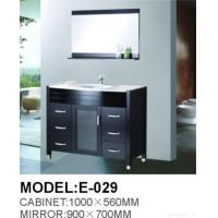 Quality Solidwood Bathroom Floor-mounted Furniture for sale