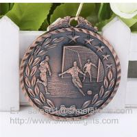 Quality Antique bronze plated sports race finisher medals and medallions wholesale, for sale