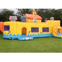 Buy cheap Noah ' S Arc Activity Animal Commercial Inflatable Toddler Playground Amazing And Huge from wholesalers