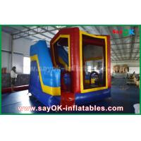 Quality PVC Outdoor  Inflatable Bouncer Slide / Kids Bounce Jumping House for sale