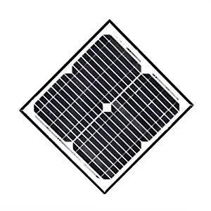 Quality 20 / 30 Watt Monocrystalline Solar Module Charging For Garden Light System for sale