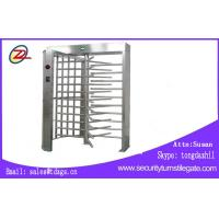 Quality Remote Control Full Height Turnstile Stainless Steel Single Lane Type CE Approved for sale