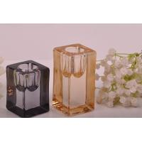 Buy Tall Cylinder Square Recycled Glassware Glass Tealight Candle Holders at wholesale prices