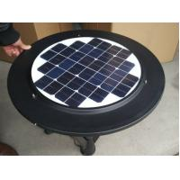 Quality Home Lighting System PV Solar Panels / Round Solar Cell Composite Film Back Sheet for sale