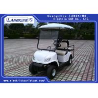 Quality Low Speed Four Passenger Battery Operated Golf Cart Road Legal For Residential for sale