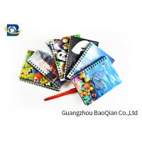 Quality A4 A5 A6 3D Lenticular Notebook Eco - Friendly Material For Student Stationery for sale