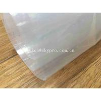 China Transparent Sticky Silicone Rubber Sheet Rolls Medical Grade Customized on sale