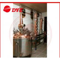Quality Stainless Steel Moonshine Still  Kits With Dephlegmator 3mm Thickness for sale