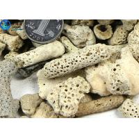 Buy Microporous Coral Live Sand Fish Aquarium Gravel With PH Value For Sea Water Tanks at wholesale prices