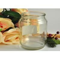 Buy Decoration Round Glass Tableware Transparent Shock Resistant at wholesale prices