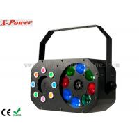 Quality 8 x 3W Disco Party Lights Gobo Effect With Laser RGBW / Built-in Programmer for sale