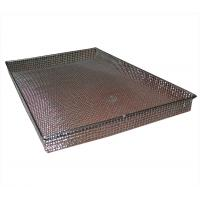 Quality FDA Metal Wire Basket Rectangle for storage / sterilization / BBQ for sale