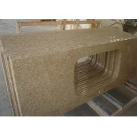 Quality Rusty Yellow Fantasy Natural Stone Countertops G682 Sunset Granite Vanity Tops for sale