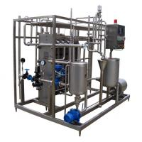 Buy cheap 3 Stages / 4 Periods Plate Type Juice Sterilizer Dairy Processing Equipment 6TPH SUS316L from wholesalers
