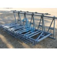 Quality Dairy Cattle Head Lock Cubicle / Locking Feed Barriers With Spring -Loaded Neck for sale
