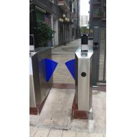 Quality DC 12V 3A Automatic Systems Turnstiles With Face Recognition Infrared Thermoter for sale