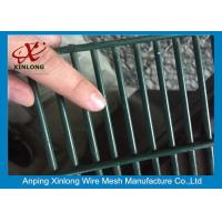 Buy cheap 358 High Security Wire Netting Fence / Anti Climb Wire Mesh Security Fencing from wholesalers