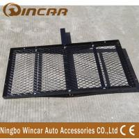 Buy cheap Steel Material Rear Bike Carrier Hitch Mount Cargo Carrier Basket from wholesalers
