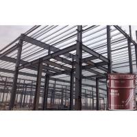 Quality 3 Hours White Fire Intumescent Paint Fire Rating For Steel Beams Cementitious for sale