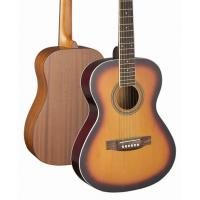 Quality 36 inch 3/4 Size Spruce Solidwood Western Guitar / Wood Acoustic Guitar TP-AG08 for sale