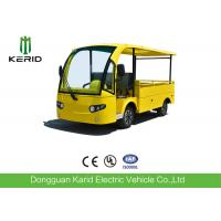Quality 700KG Small Electric Cargo Van Airport Luggage Cart 2 Seats With CE Certificate for sale