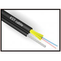 Buy 6 Core Outdoor Fiber Optic Cable Single Mode And Multimode Steel Wire Cable at wholesale prices