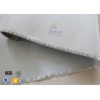 Quality Aluminized Plated Fiber Glass Cloth Decoration Silver Coated Fiberglass Fabric for sale