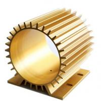 Quality Oxidation Aluminum Heatsink Extrusion Profiles With CNC Machining for sale