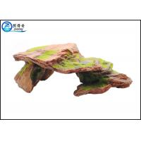 Quality Customized Polyresin Fish Aquarium Craft Moss Rock Aquarium Ornaments for sale