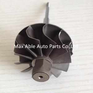 Quality K04 44.5X50 journal bearing turbo turbine shaft 12 blades for sale