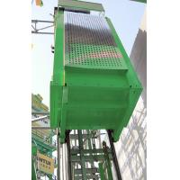 Quality Vertical Single Car 300kg Capacity Industrial Lift , Construction Elevator for sale