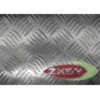 Quality 5052 Anti Skid Aluminum Checkered Plate Bright Finished ISO Approval for sale