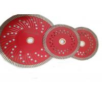 China D125mm Granite Diamond Turbo Saw Blade with Cooling Holes on sale