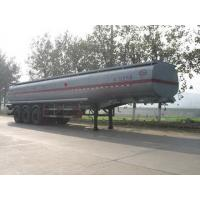 Quality Chu wins 12.9 m 30.6 t 3-axis chemical liquid transport semi-trailer CSC9402GHY for sale