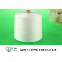 Quality Raw Virgin 100 Spun Polyester Sewing Thread For Knitting / Weaving for sale