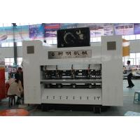Buy cheap A type computer controlled corrugated cardboard slitter scorer with AC servo, from wholesalers