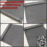 Quality needle punched geotextile/ weed barrier fabric/earthscape rolls for sale