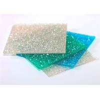 Buy Green Embossed Polycarbonate Solid Sheet Sabic Material 2mm - 12mm Thickness at wholesale prices