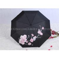 Buy Creative Colour Changing Umbrella , Plastic Handle Fold Away Umbrella at wholesale prices