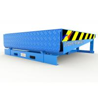 Quality Steel Structure Hydraulic Dock Ramp , Loading Dock Equipment With 300mm Downwards for sale