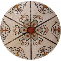 Quality Marble Water Jet Mosaic Tile Medallion Patterns , Inlay Mosaic Tabletop Patterns for sale