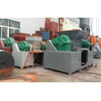 Quality Double Roller Shredder Wood Crusher Machine With Big Feeder Opening for sale