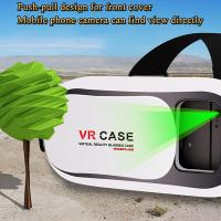 Quality Best Selling Virtual Reality Glasses VR Box 3d Glasses Headset for Google Cardboard Glasses Manufacturer for sale