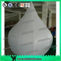 Quality 2m Customized Event Inflatable Balloon White Waterdrop for sale