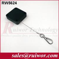 Quality RUIWOR RW5624 Square Multi-purpose Pull Box with Hook End Retracting forces MAX 2.5LB/ Cable length MAX 400CM for sale