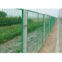 Quality School / Highway Welded Wire Mesh Fence Panels With Vandal Resistant for sale
