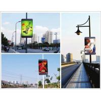 Quality led pole screen P5 outdoor SMD RGB full color video board with 4G wireless system for sale
